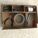 Cardboard Scraps Box With Separators