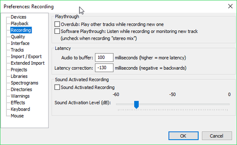 Learning Selection and Timeshift