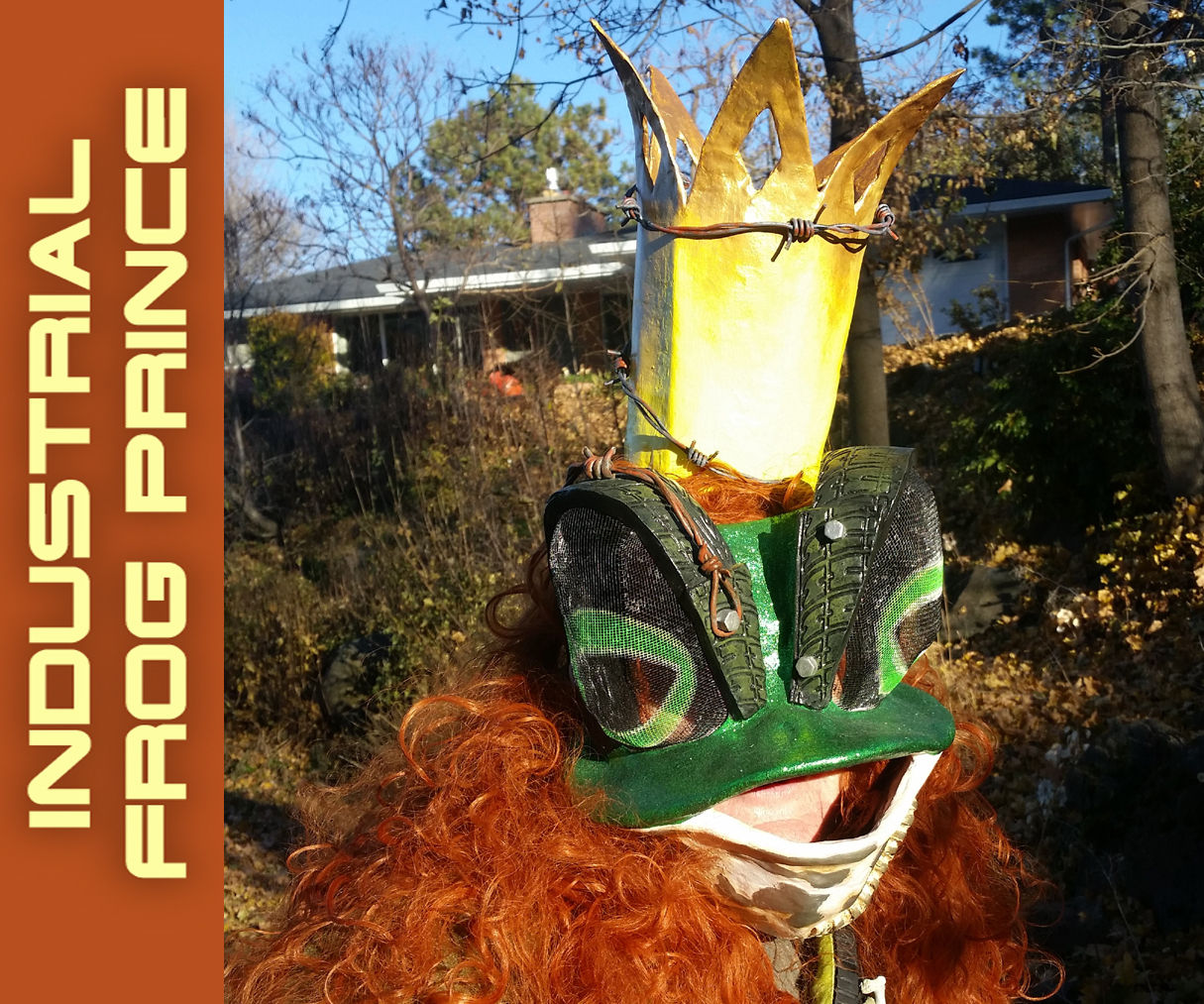 Industrial Frog Prince Mask and Costume