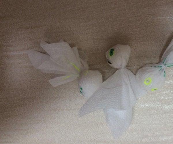 Little Ghost Dolls ( for Halloween)