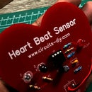 Heartbeat Sensor Circuit Using LM358