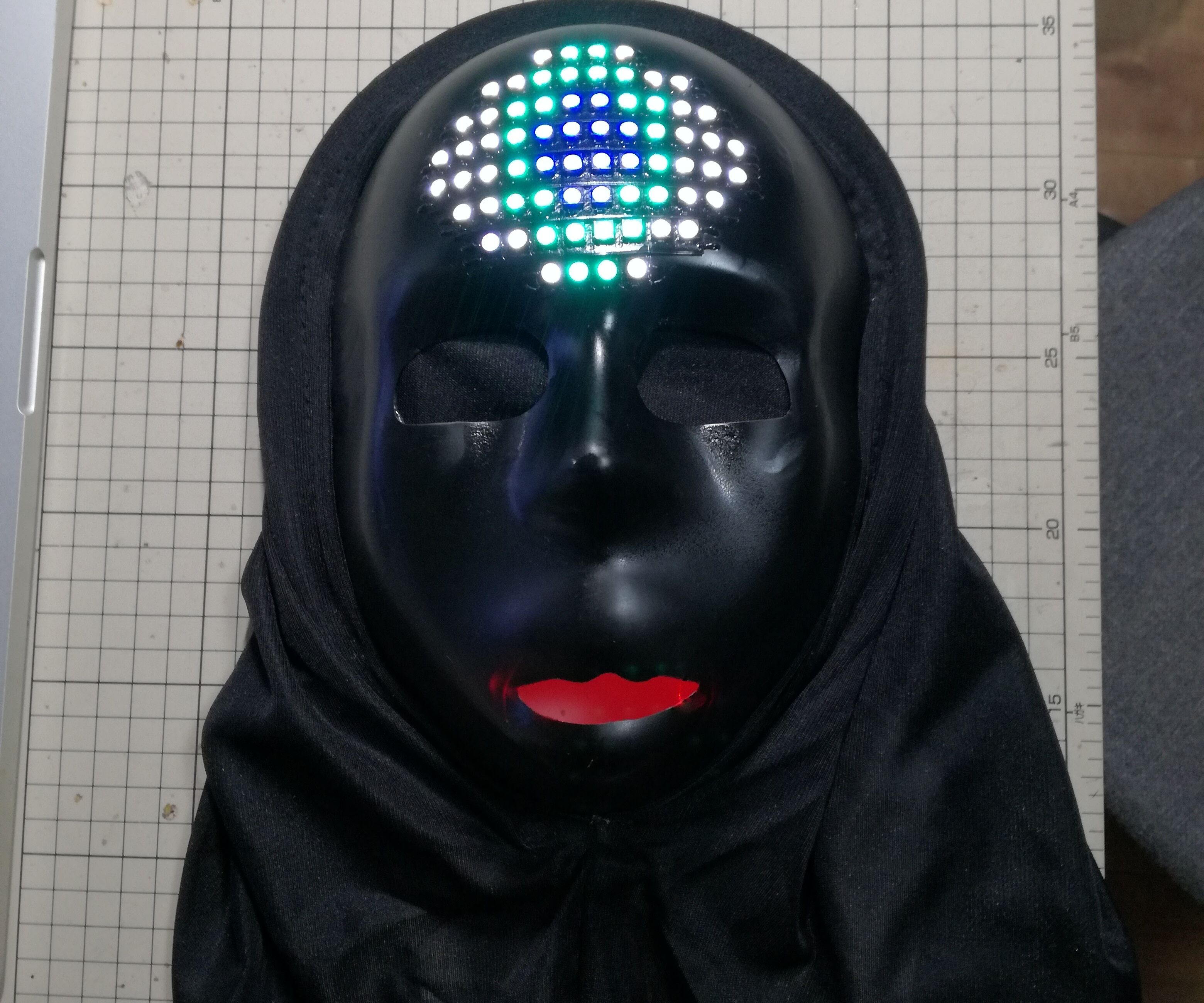 "LED Eye Mask  ""Hitomi-chan"""