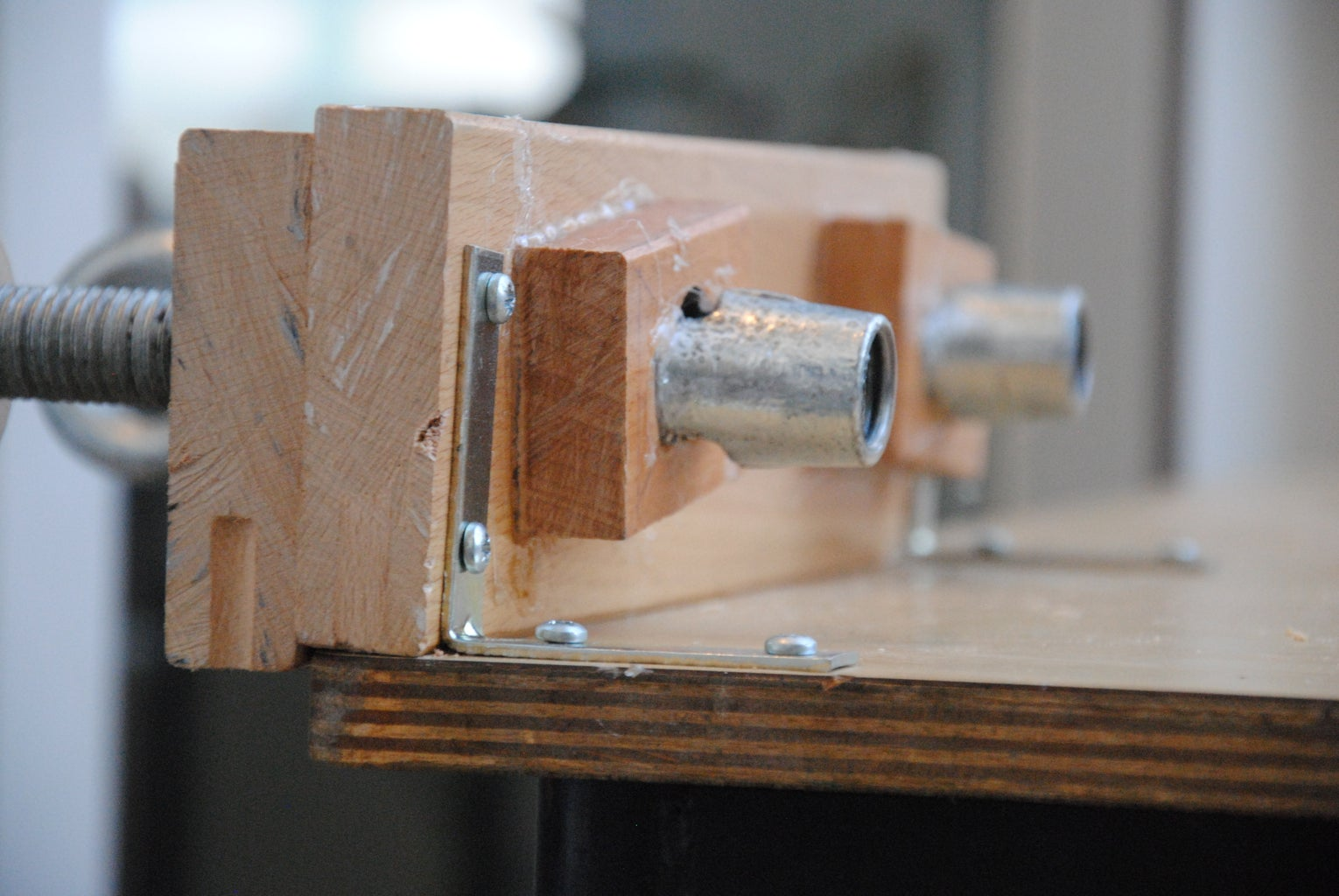 Secure the Vise to the Table