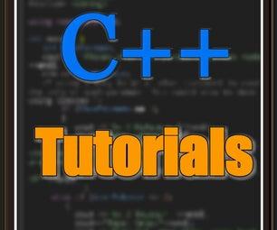 C++ Tutorials Part-1