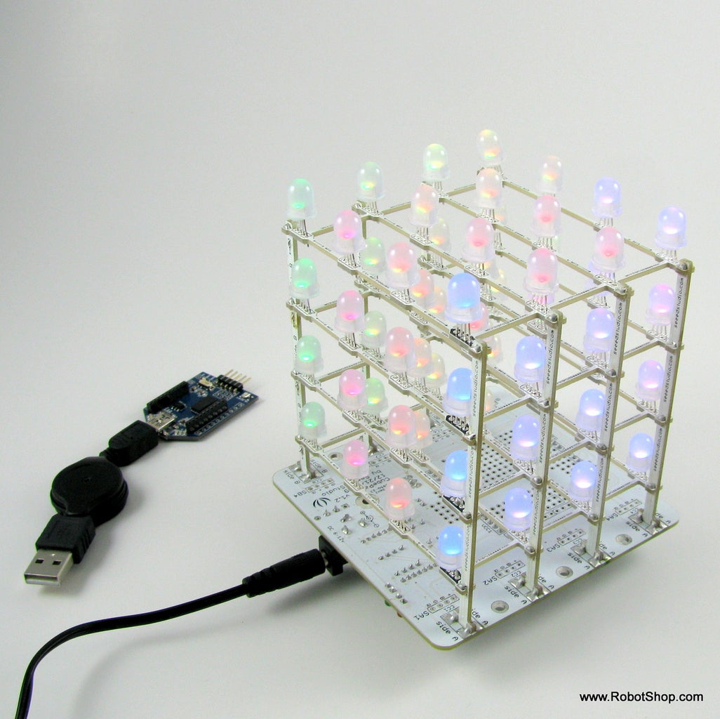 Carlitos' Project: RGB LED Mood Cube