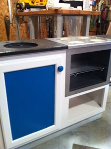 Oven and Base Cabinet