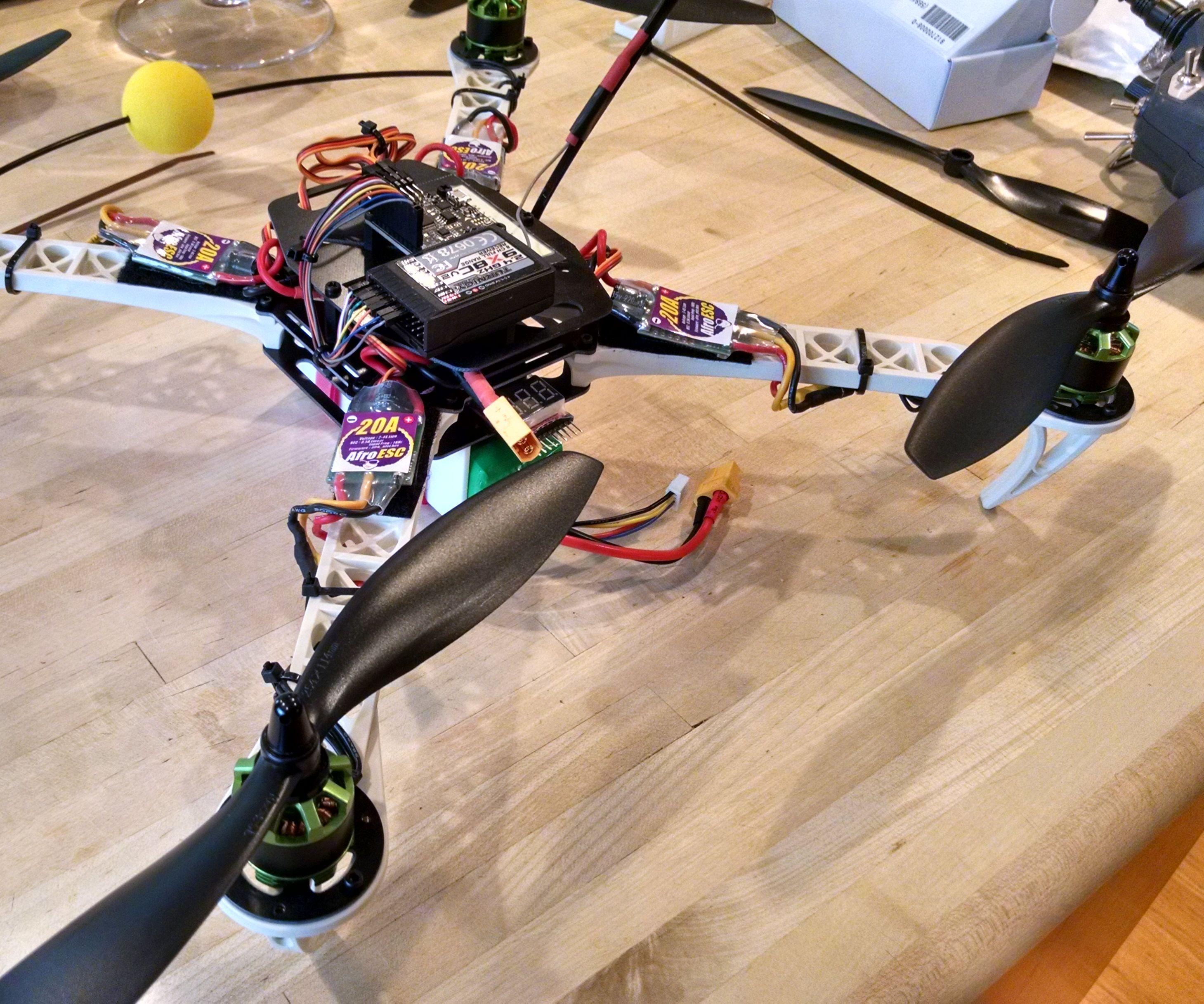 Overview of Quadcopter Components / How to Select Parts