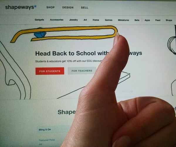 Quick Start Guide: Shapeways