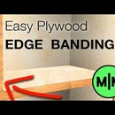 How to Apply Wood Edge Banding to Plywood.