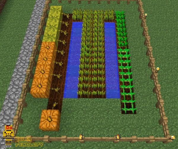 Farming in Minecraft