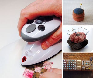 10 Instructables for Sewing in an Apartment