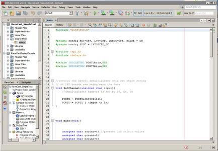 PIC Programmer and Test Program