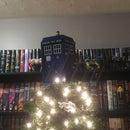Tardis Christmas Tree Topper