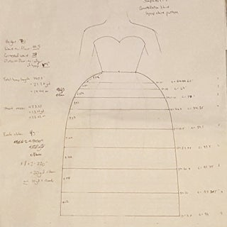 How to Draft a Custom Hoop Skirt Pattern With the Exact Shape You Want