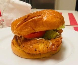 Chick-Fil-A Fried Chicken Sandwich Recipe