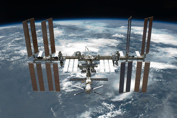 How to Spot the International Space Station Pass By.