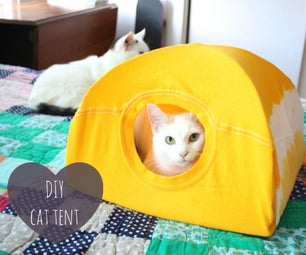 DIY CAT帐篷