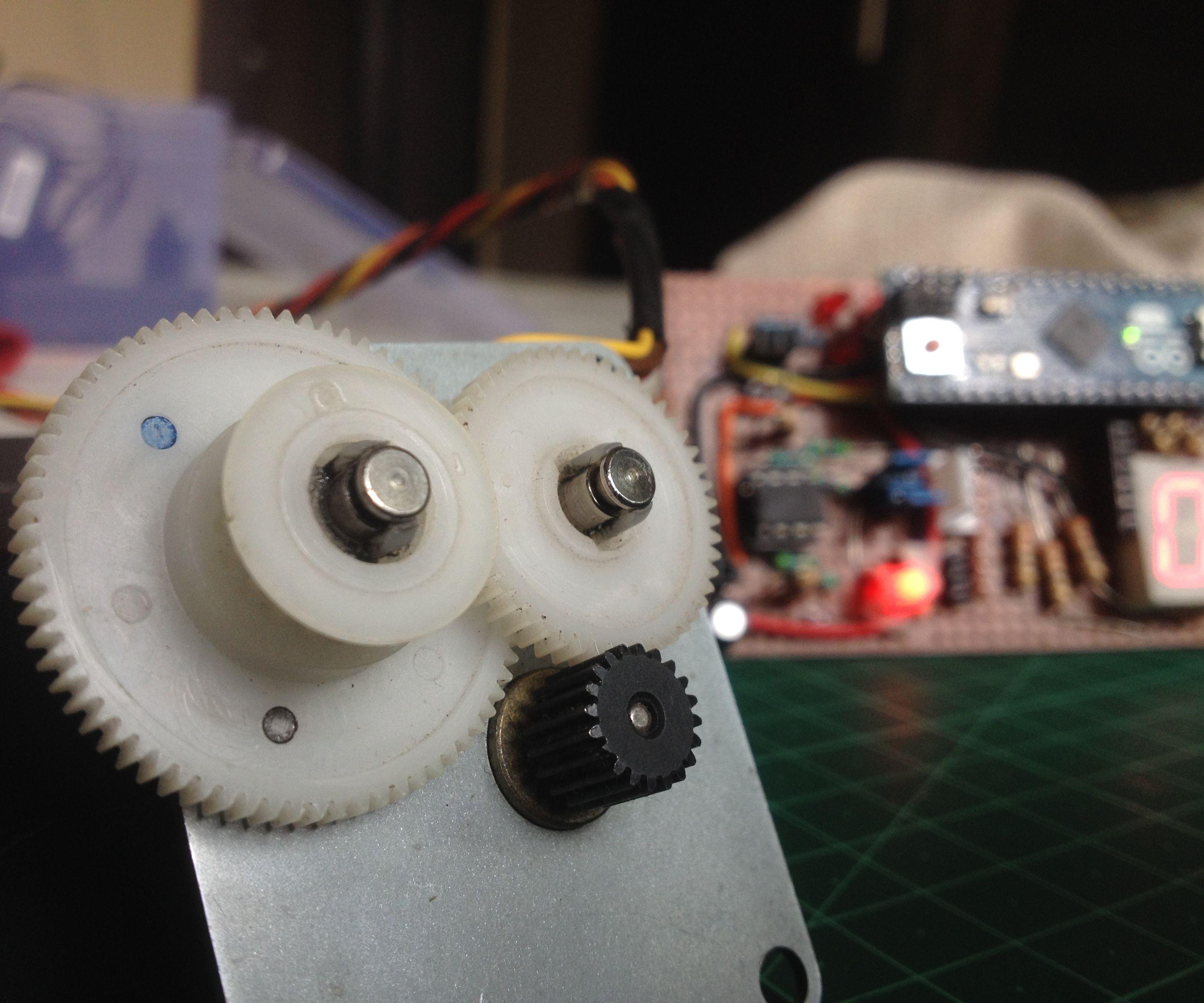 Use a Stepper Motor As a Rotary Encoder