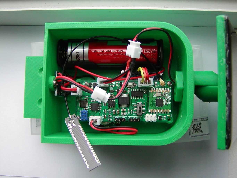 Add the Internal Box Parts
