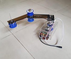 D.I.Y SINGLE ARM SCARA ROBOT