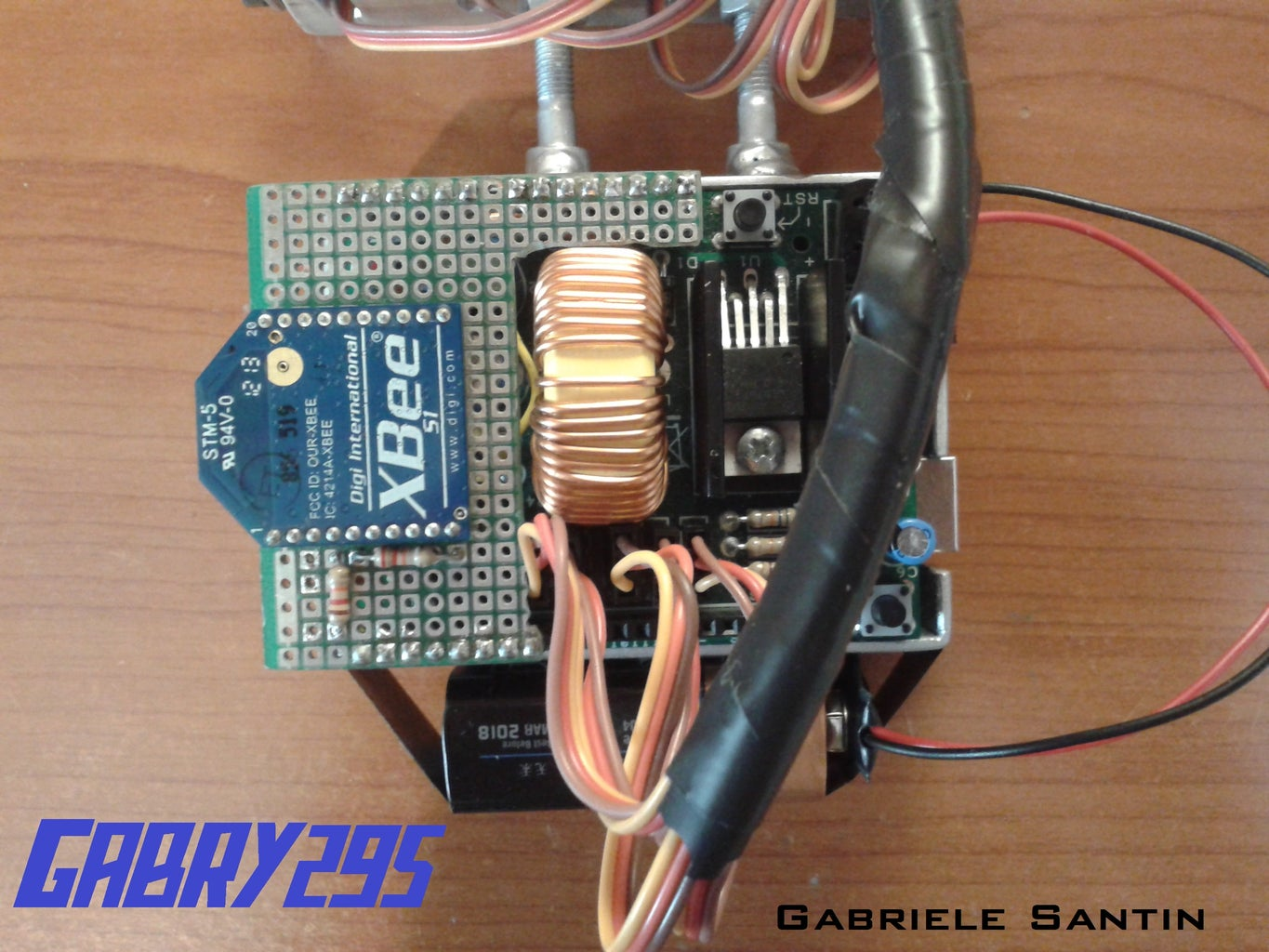 Circuit of the Robotic Hand