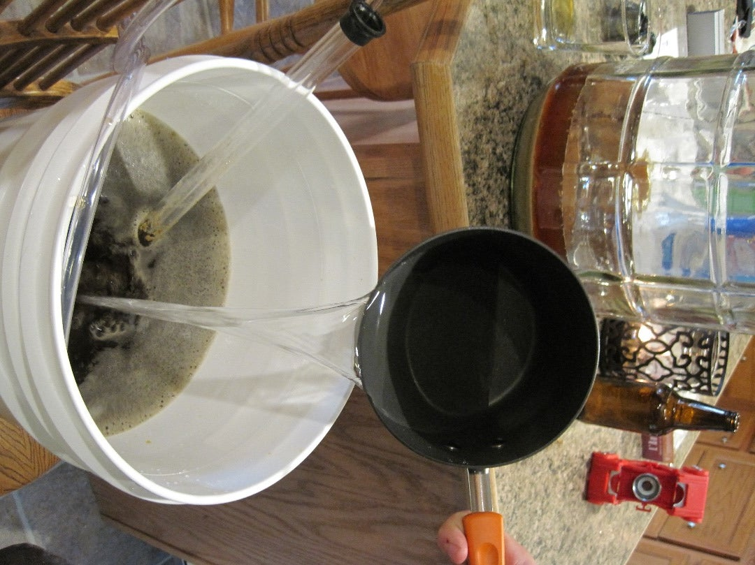 Check the Specific Gravity and Add the Priming Sugar