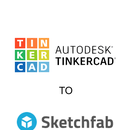 Exporting From Tinkercad to Sketchfab in Colour