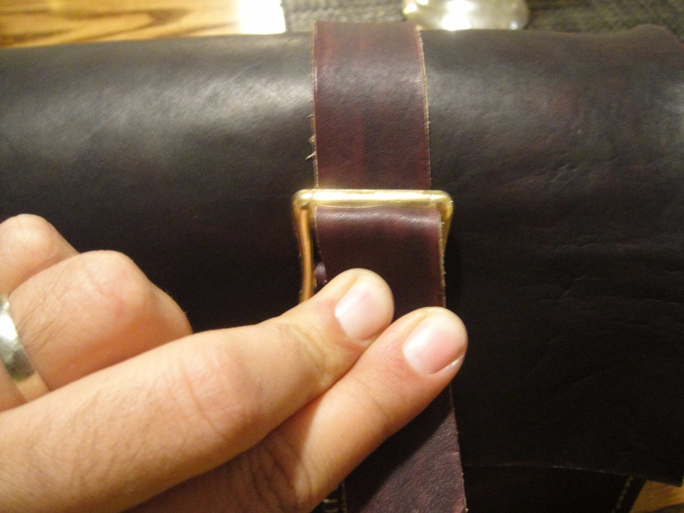 Finishing the Buckles