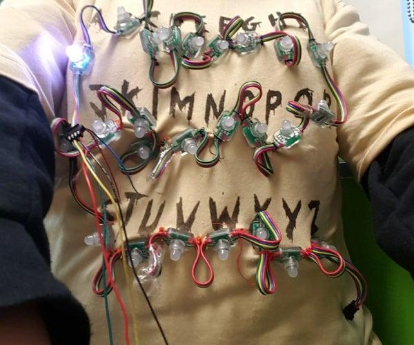 Stranger Things LED Shirt