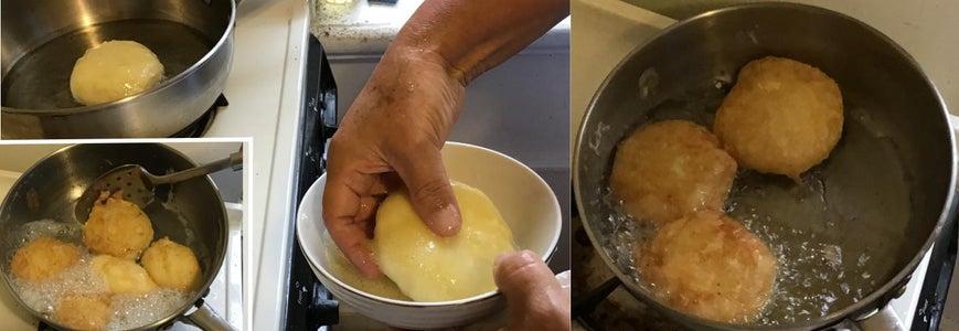 Frying Your Potato Creation