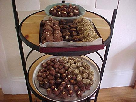 Walnut & Chocolate Covered Homemade Marshmallows