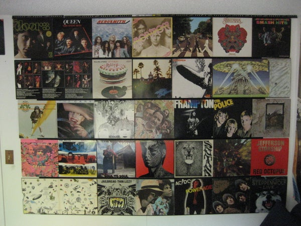 Hang Up Your Old Vinyl Records!