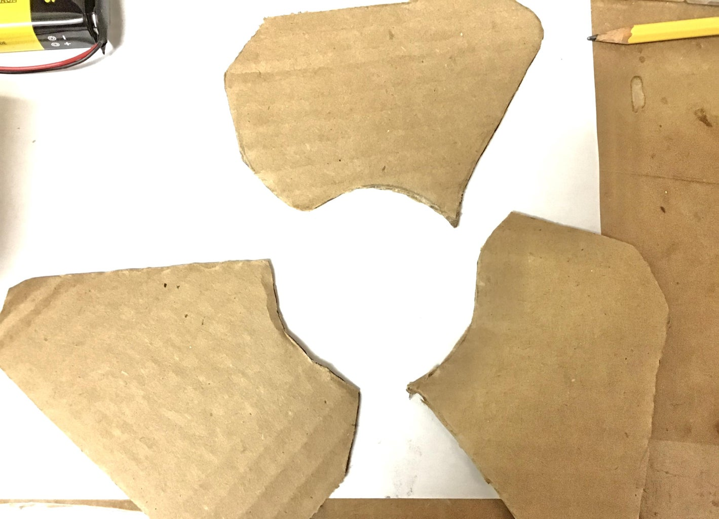 Making the Fan Blades