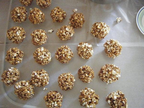 Nana's Molasses Popcorn Balls
