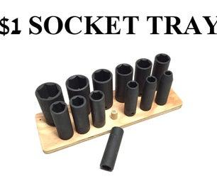 $1 Socket Tray