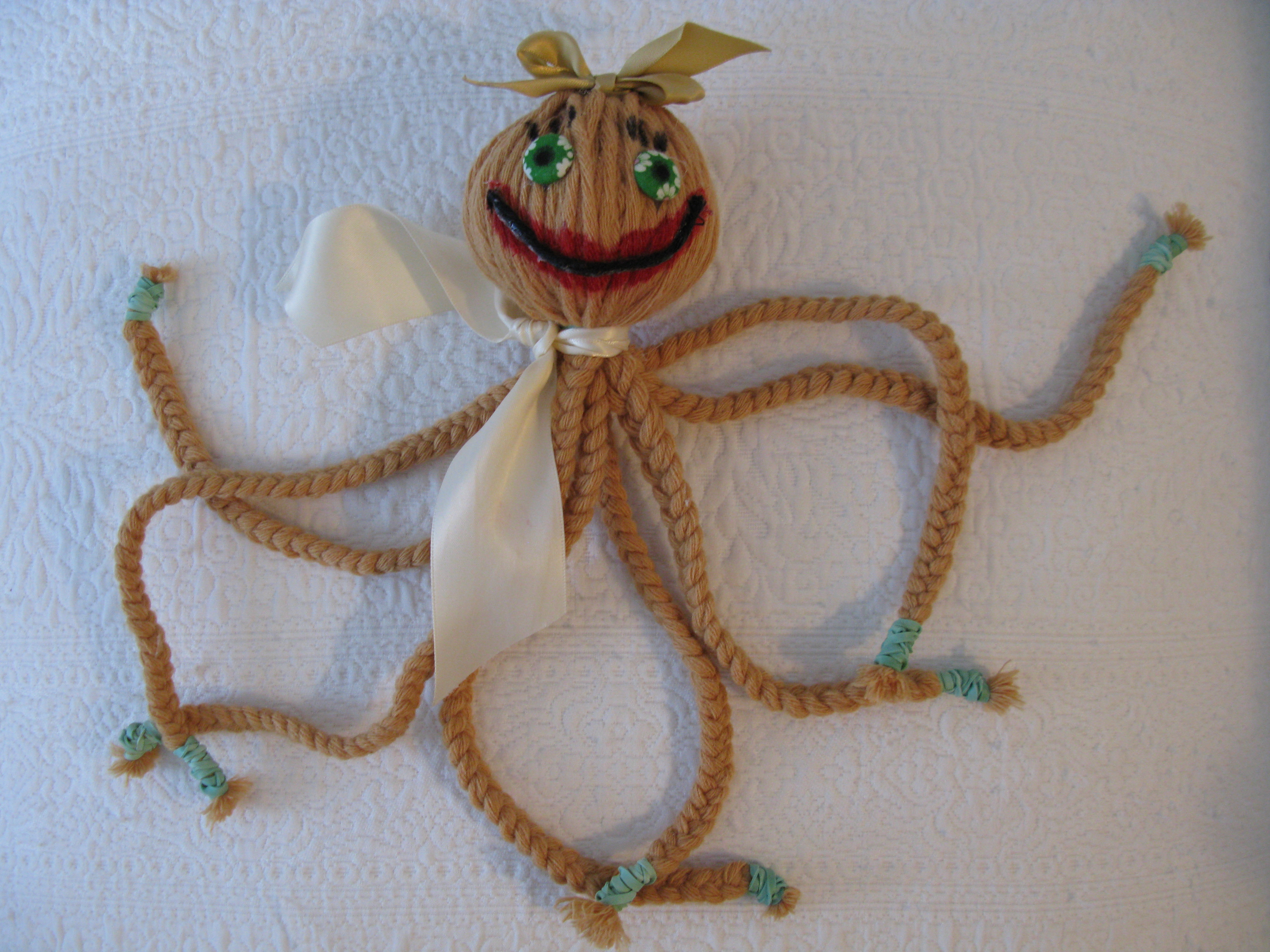 BRAID THAT OCTOPUS - A Craft Project For Kids Ages 4 -10