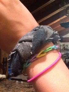 Braided Jeans Bracelet