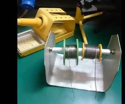 DIY Solder Wire Dispenser