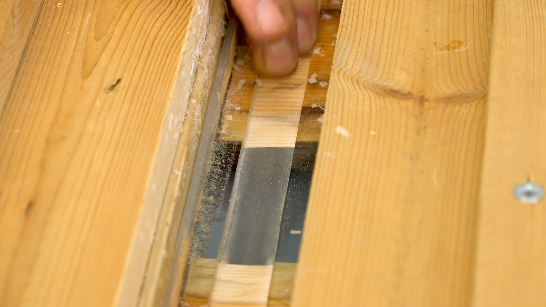 Routing & Sanding
