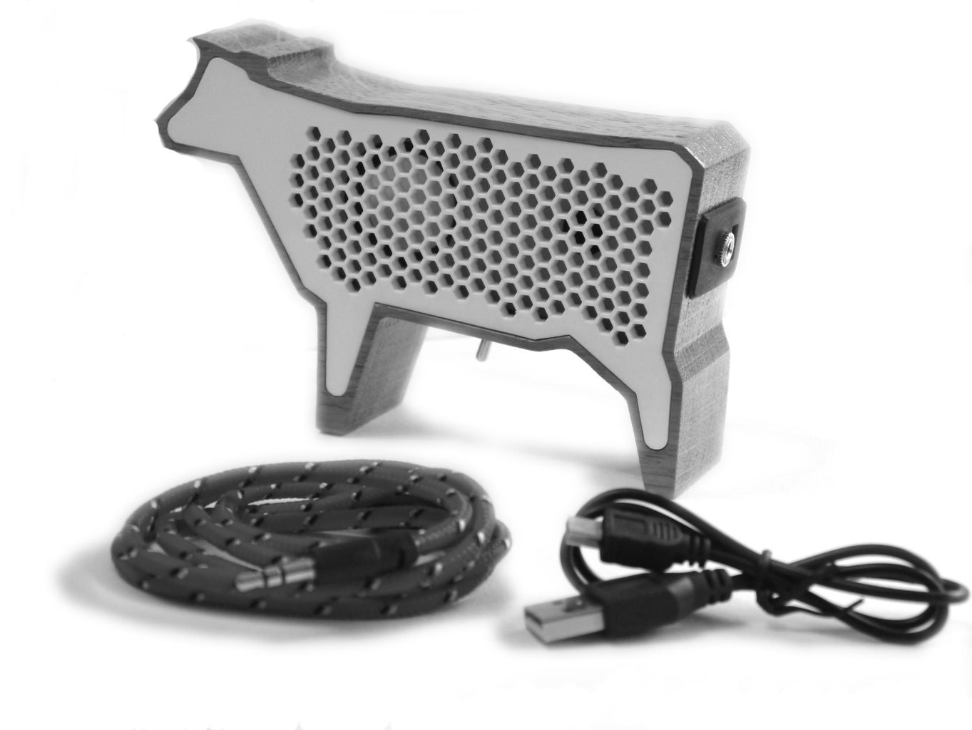 Mini Cow Speaker USB Rechargable