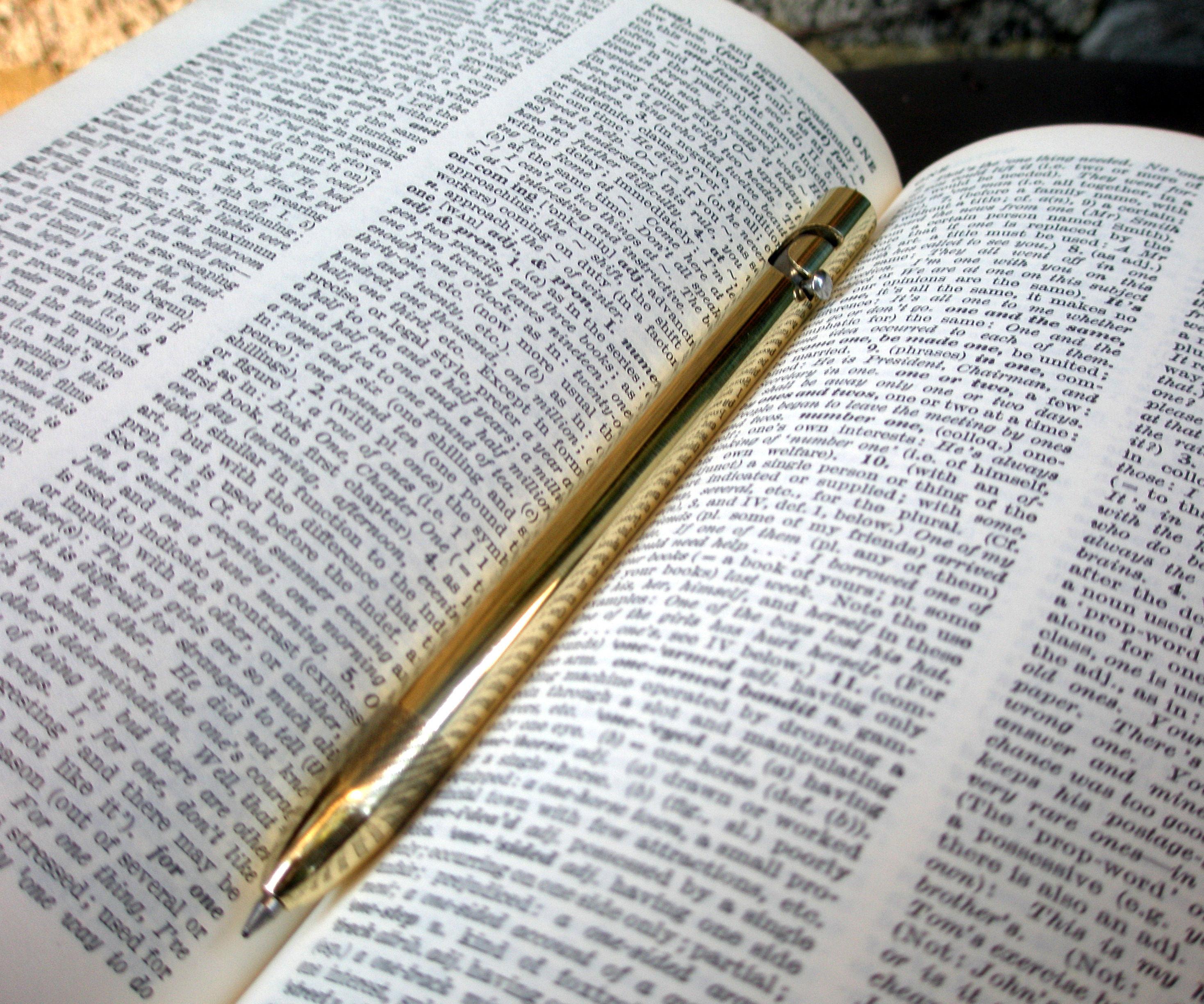 Ballpoint Pen With a Lathe (bolt Action)