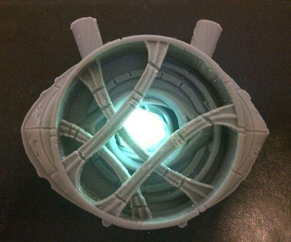 Doctor Strange - Eye of Agamotto [Cosplay] With Opening Eyelids