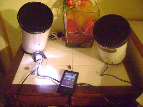 My Tube! Stereo Sub Woofer Speakers for I-pod and Mp3 Second Version(with Batteries and USB Charger)