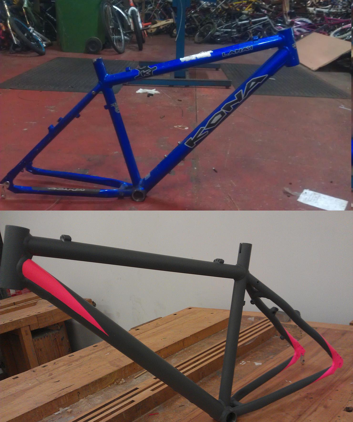 Pimp your bike frame under £30