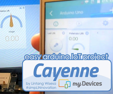 Easy Arduino IoT with Cayenne