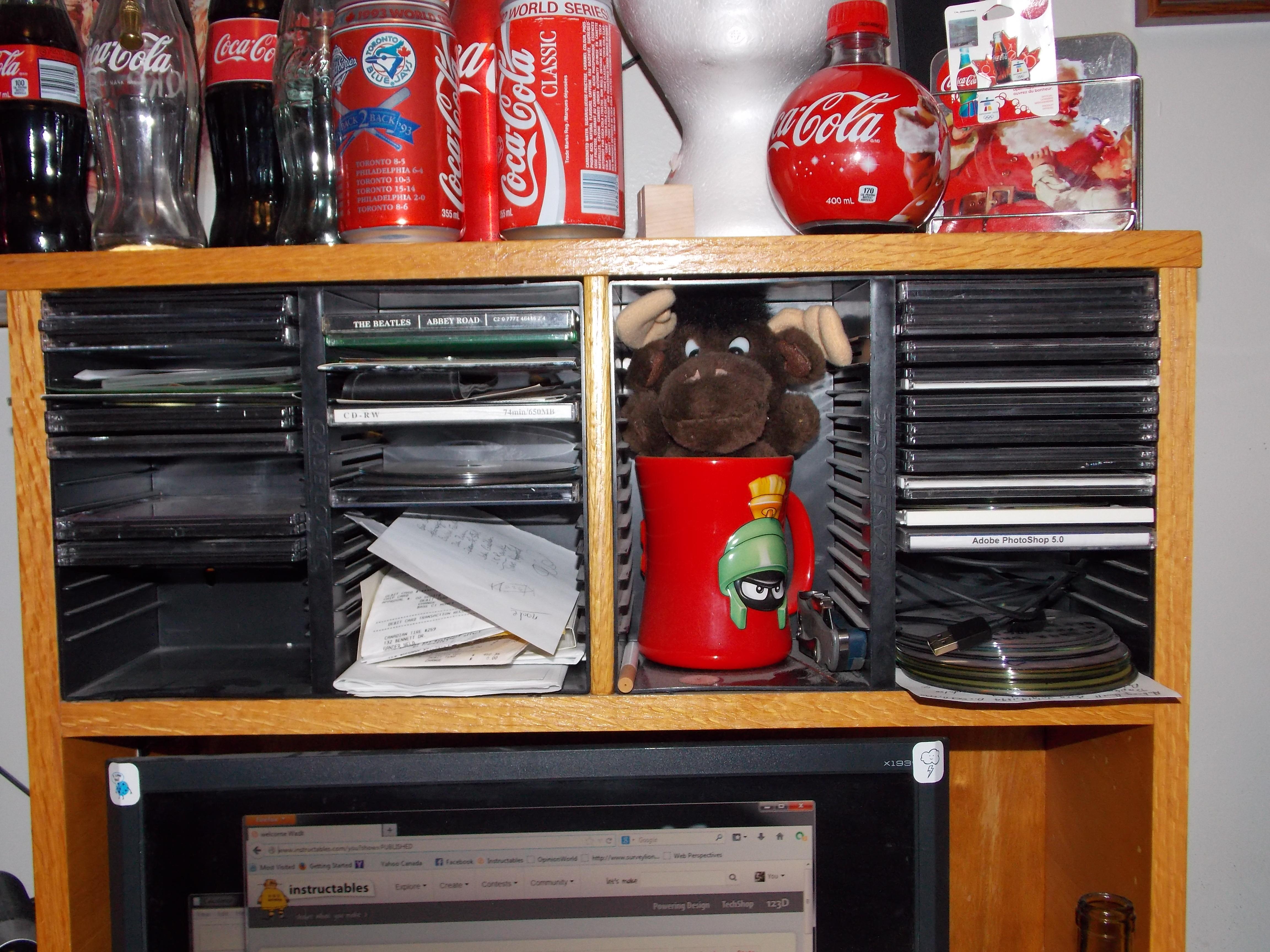 Hidden Desk Compartment