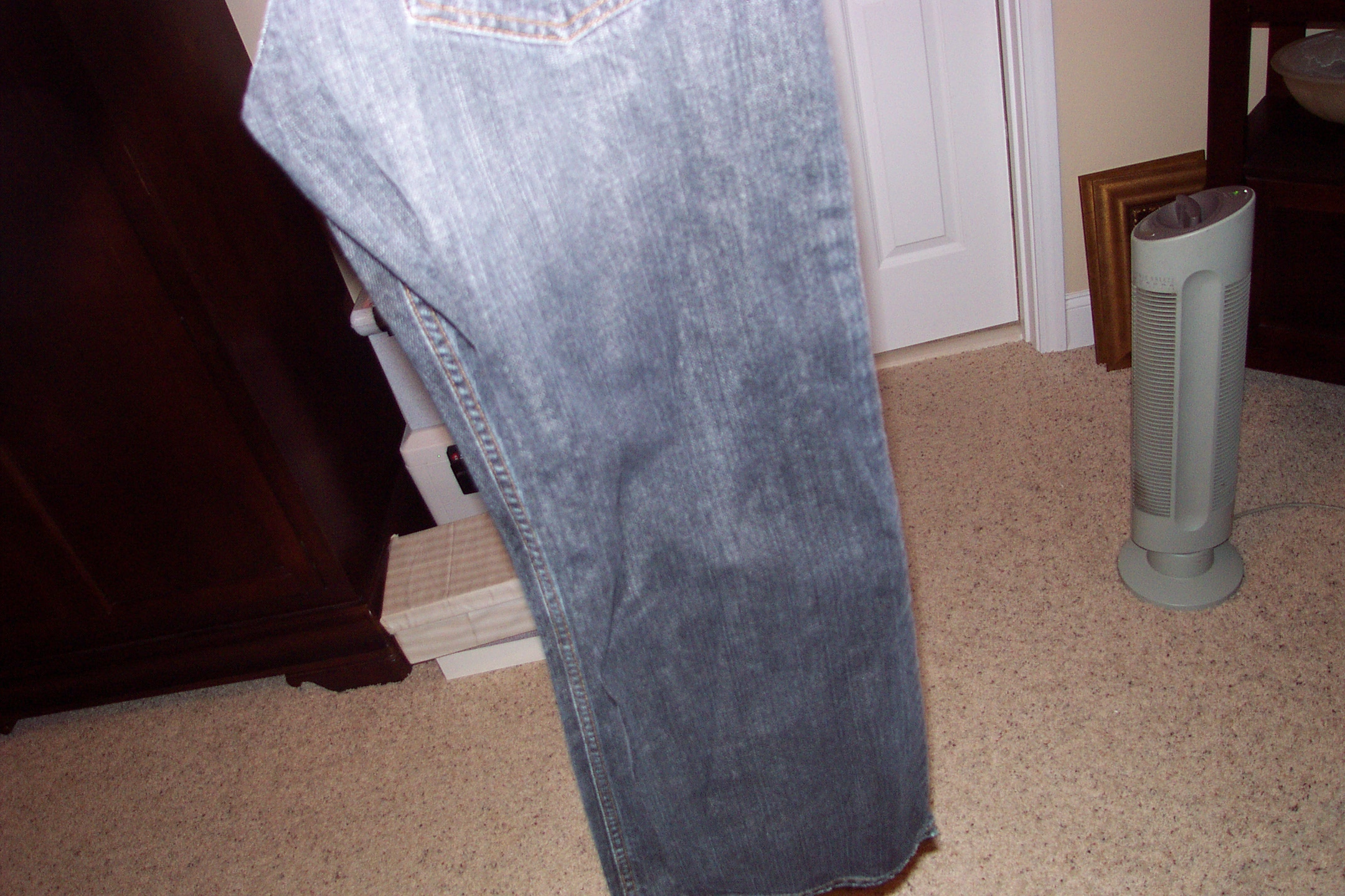 Soften Stiff Jeans