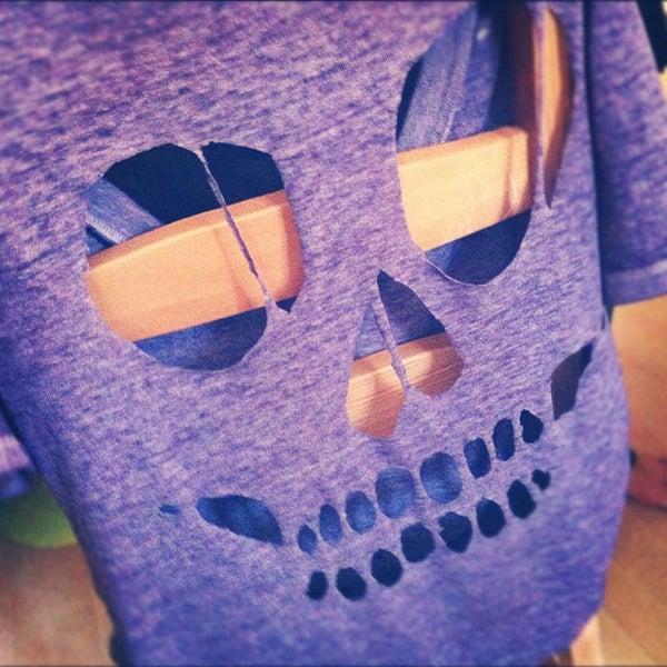 Skeleton Cut-Out Shirt