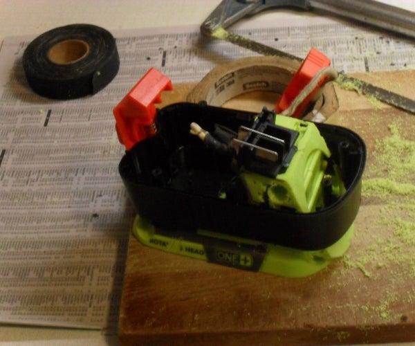 Black&Decker Adapter for Ryobi Battery!