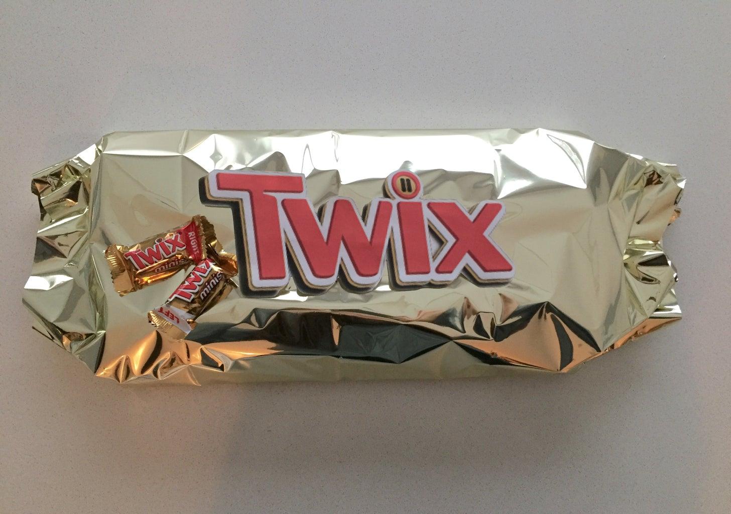 Giant Twix Bars!